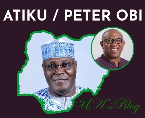 BREAKING!! 2019 : Finally, Atiku Picks Peter Obi As Running Mate