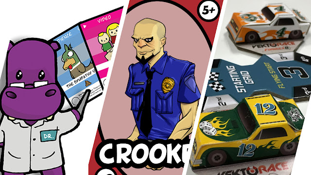 Review Roundup - Good Cop Bad Cop, Vektorace Formula 8, Doodle Rush, Krowdfunder and Doomsday Bots