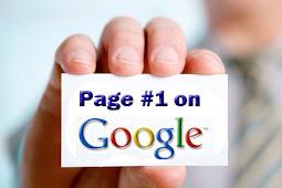 Ini Dia Cara Sederhana Agar Blog/Website Masuk Halaman Pertama Google