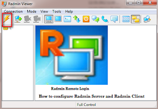 How to Configure Radmin Server and Client