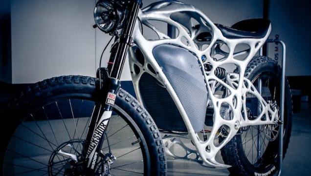 Bukan Sulap Bukan Sihir.. Inilah Sepeda Motor Pertama di Dunia yang Dibuat Pakai Printer
