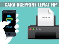 √ SUKSES! 5 Cara Print Lewat HP Android