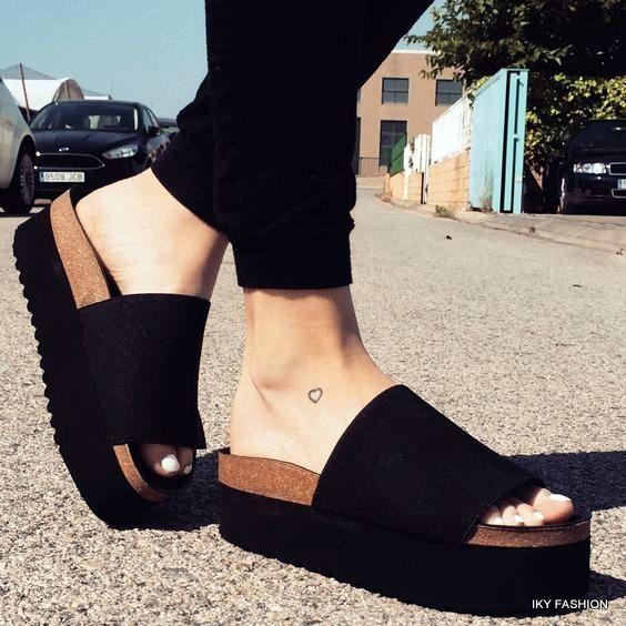 model Sandal Wanita Flat from kekinian