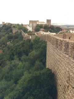 Óbidos. Portugal. Muralla. Castillo. Muralla. Muraille. Defensive wall. Wall