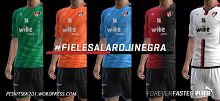 Atlas Guadalajara 2016/2017 (UPDATE KIT) PES 2013