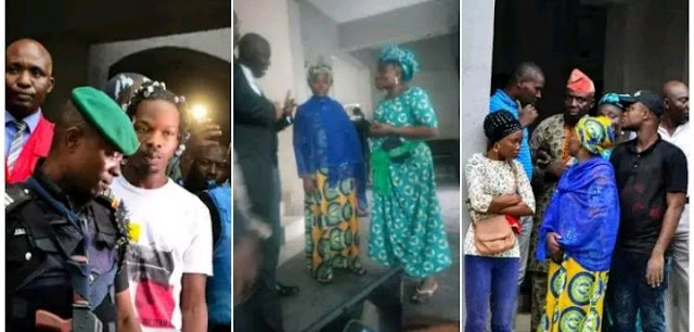 Naira Marley's Mom Tears Couldn't Help The Moment Judge Sends Naira Marley To Jail