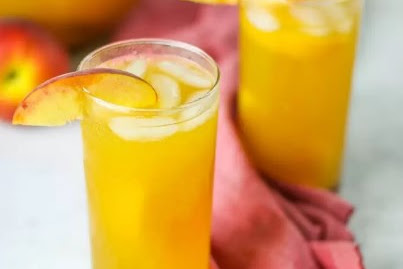 PEACH SANGRIA (NON-ALCOHOLIC AND ADULT VERSIONS)