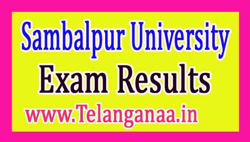 Sambalpur University +3 1st year Exam Results 2017