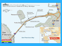 San Francisco Oakland Bay Bridge Map