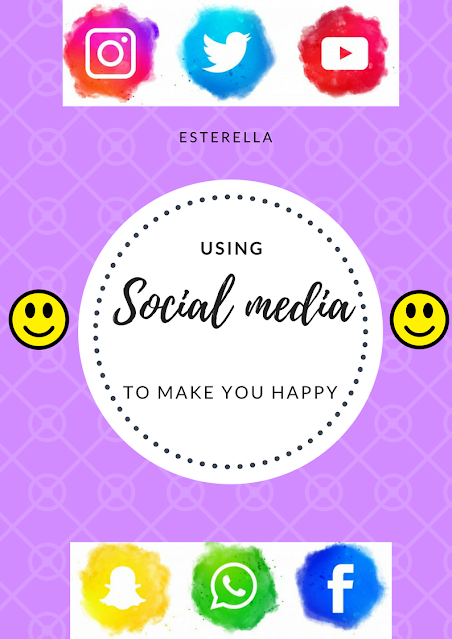Social media icons and emojis