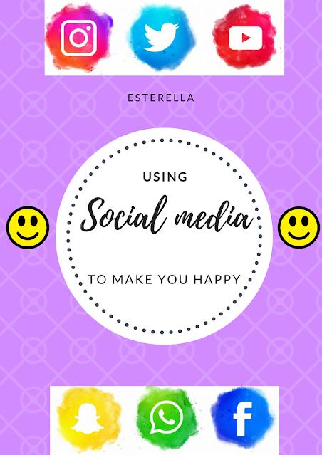 Social media icons and emojis
