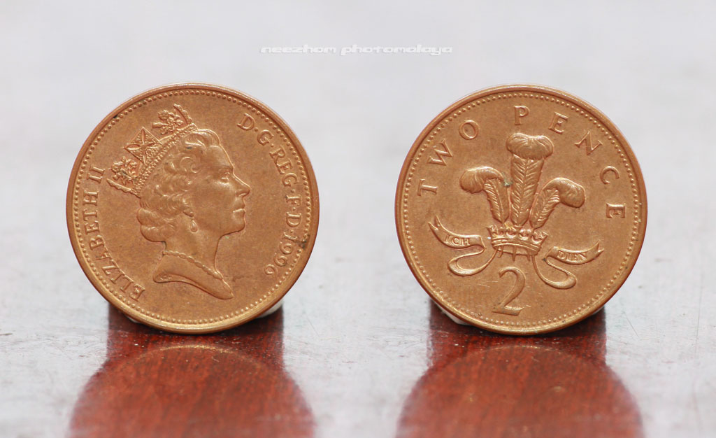 Great Britain coin 2 Pence 1996