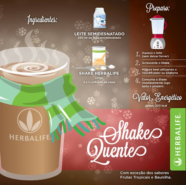 Shake Herbalife quente