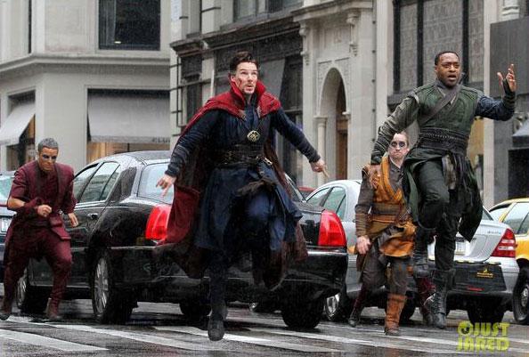 Mira las nuevas imágenes del set de Doctor Strange