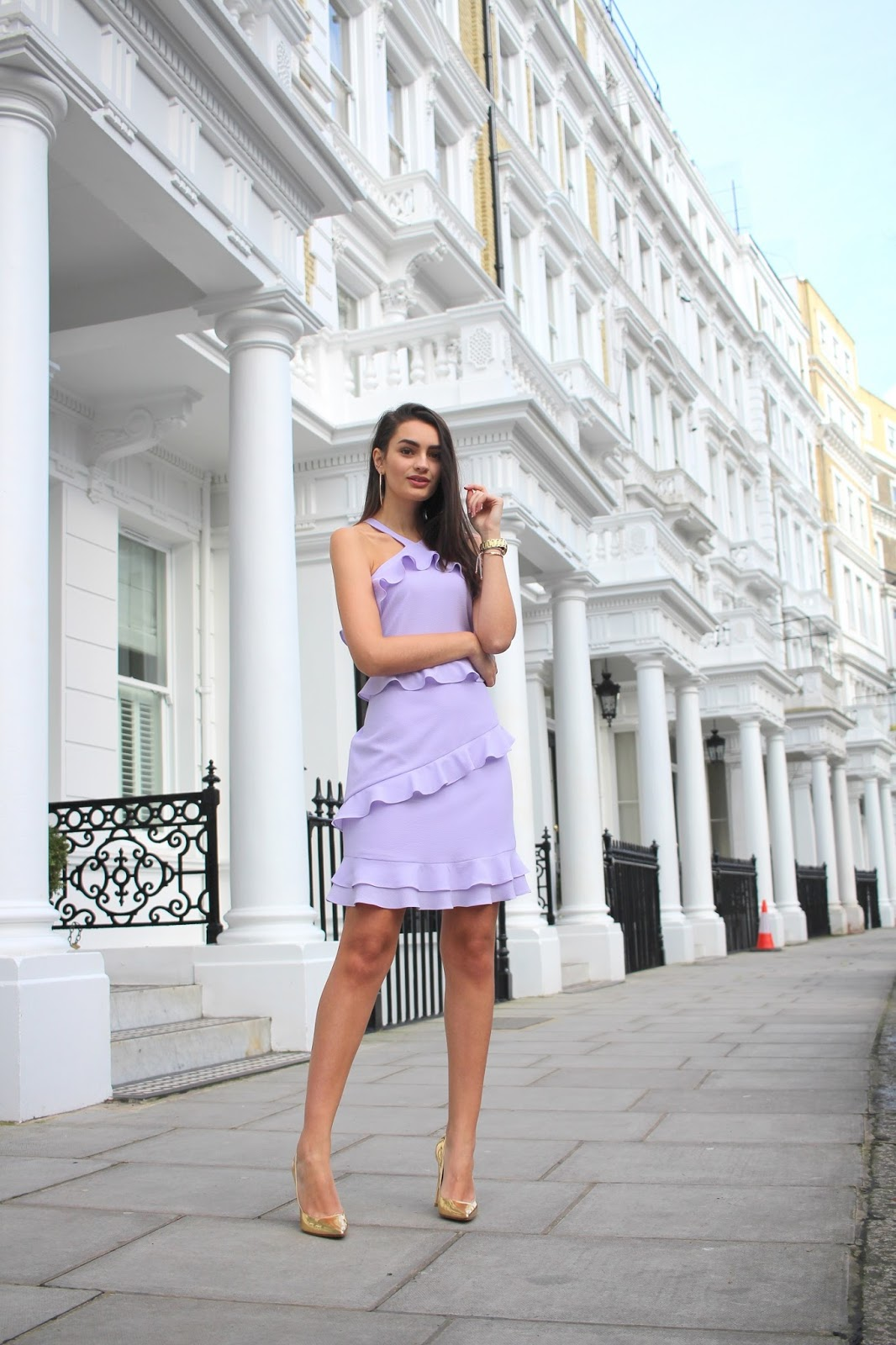 peexo london style blogger spring dress