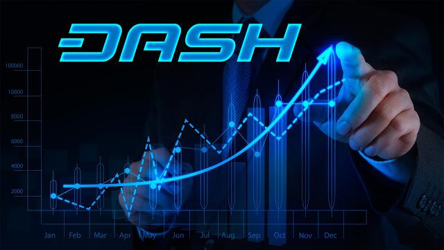 Dash đã tăng giá gấp hơn 3 lần trong chưa đầy 3 tháng