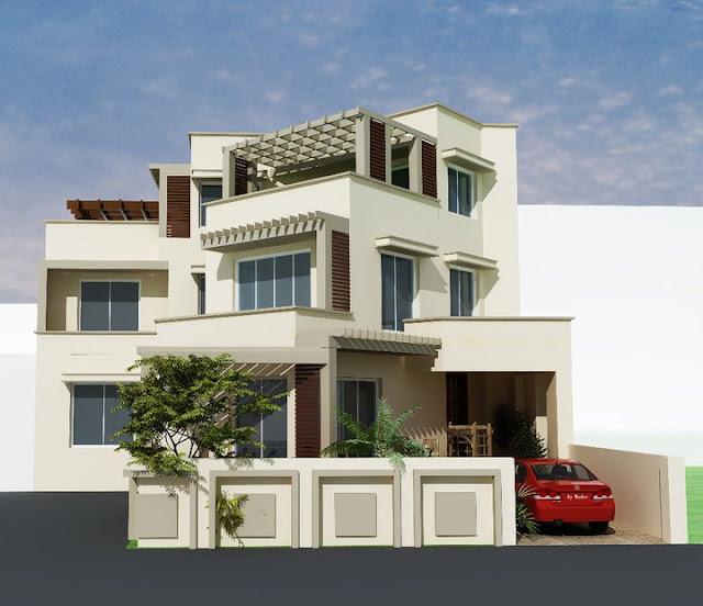 House Elevation Front: 3D Front Elevation.com: 3D Home Design & Front Elevation