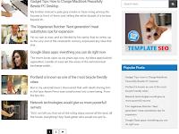 Semi AMP - Valid AMP Anda SEO Friendly Blogger Template