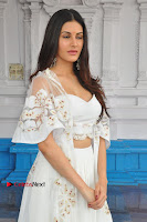 Telugu Actress Amyra Dastur Stills in White Skirt and Blouse at Anandi Indira Production LLP Production no 1 Opening  0113.JPG