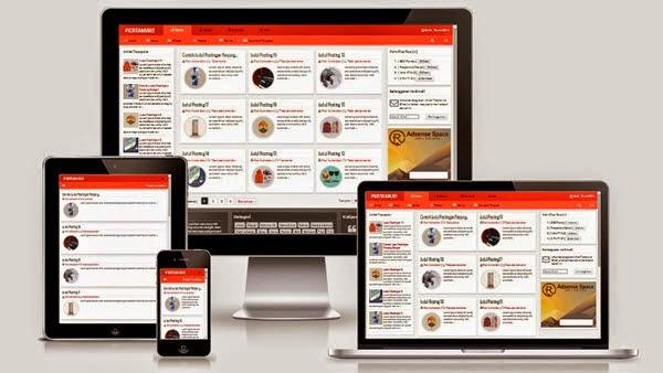 PERTAMAX Responsive Blogger Template Free Download