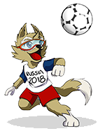 zabivaka - world cup 2018 mascot