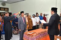 Kurniawan Dilantik Jadi Sekretaris KPU Kabupaten Bima