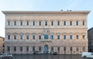 The Palazzo Farnese is now used for the French Embassy
