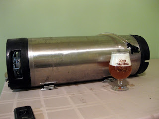 Cask conditioned American Bitter.