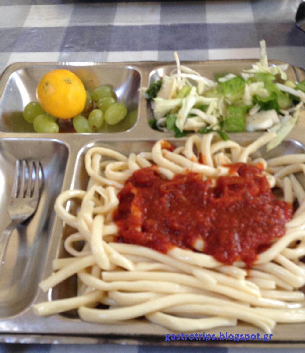 Gastrotrips: Greek army food