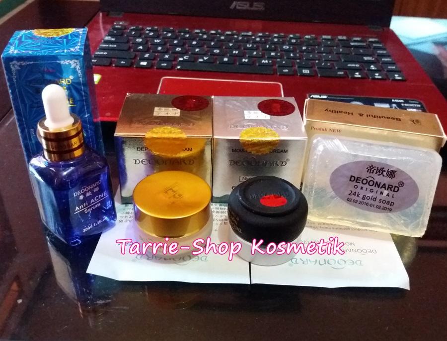 paket deoonard gold serum jerawat