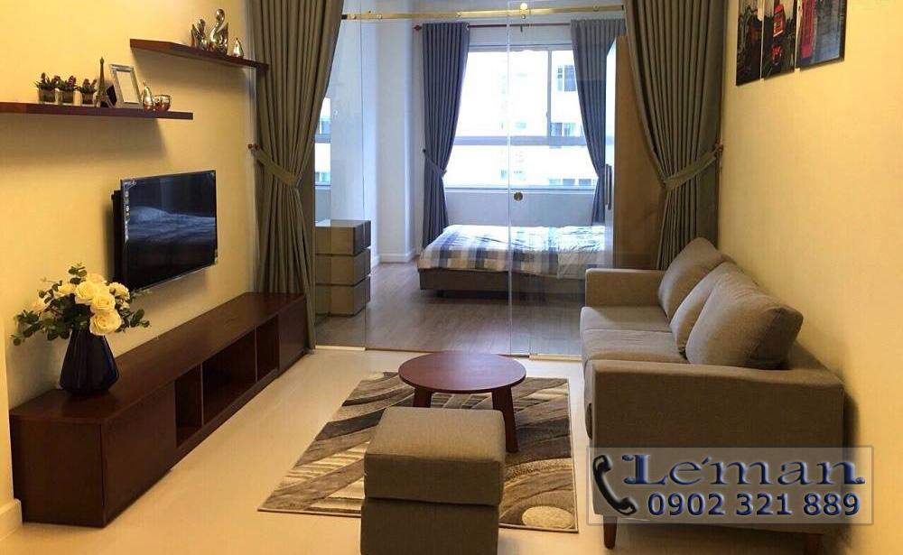 Cho thuê căn hộ Leman 2PN - phòng khách căn hộ