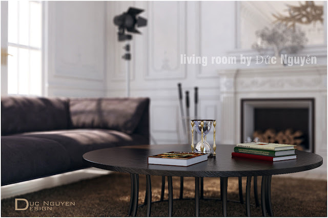 vray render living room #6 - vray render a