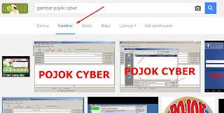 Memilih googe image atau image google