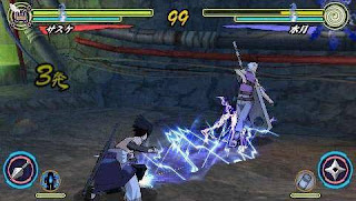 Game Naruto Shippuden Ultimate Ninja Heroes 3 PSP