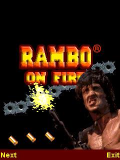 Rambo On Fire java