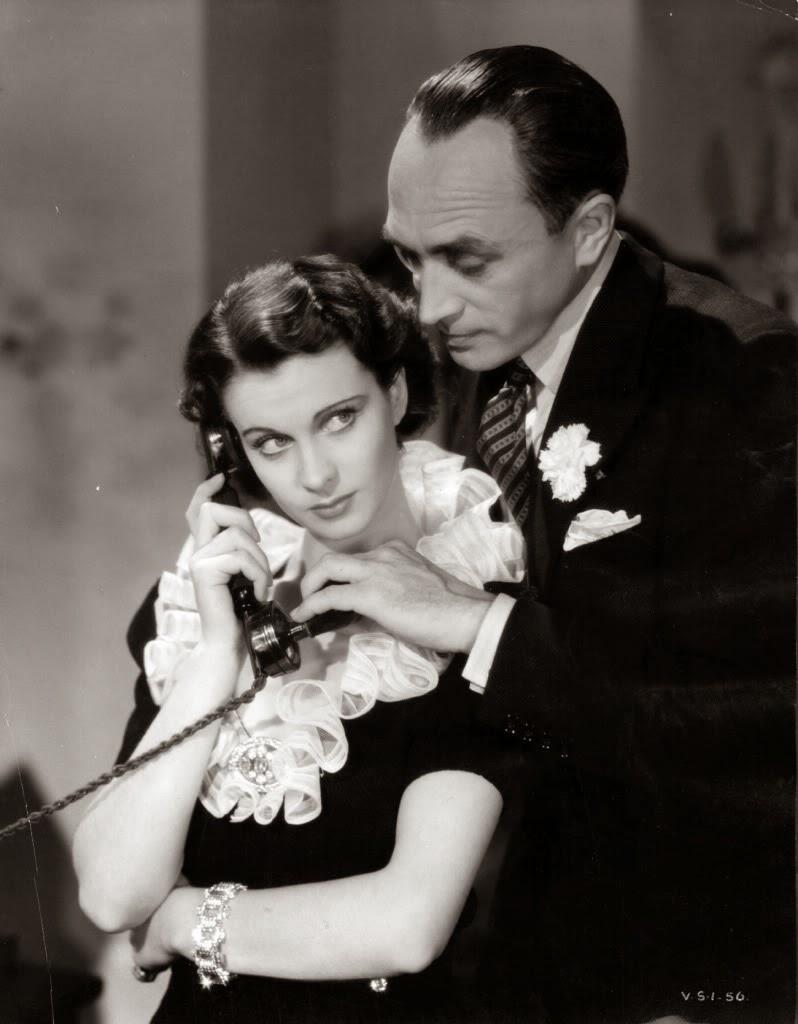 """wolfguenterthiel: """"Dark Journey"""" (Vivien Leigh & Conrad Veidt) 1937"""