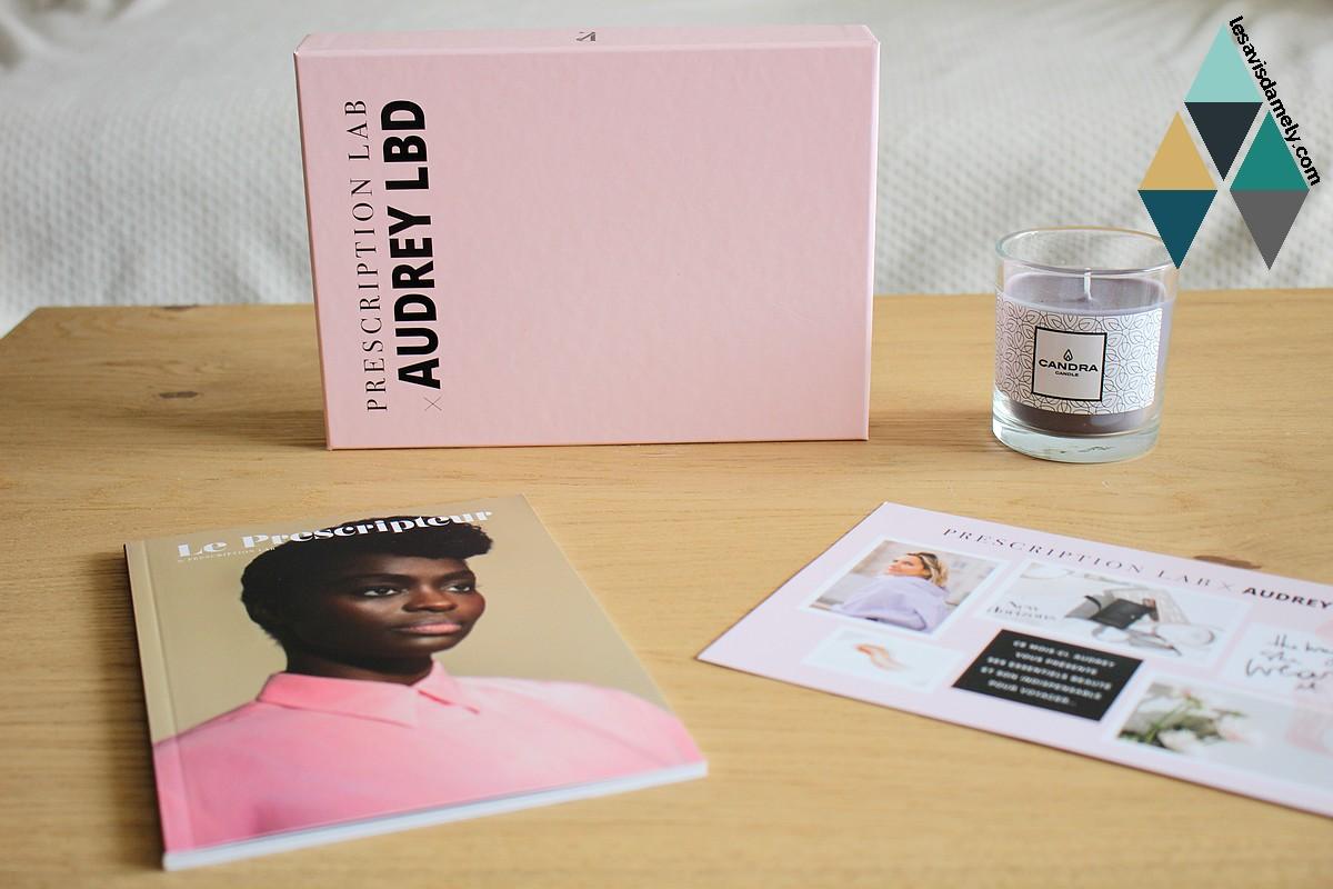 revue beauté box beauté prescription lab abonnement mensuel