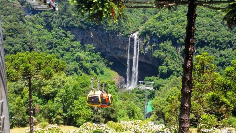 Parada do BusTour - Bondinho Parques da Serra - Canela