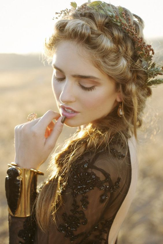 Gothic Bohemian Fall Wedding Inspiration