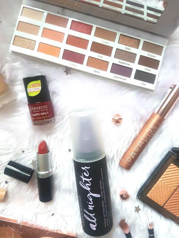 festive party makeup