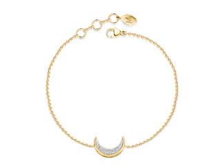 Missoma Pave Diamond Moon Charm Bracelet Jewellery Blog