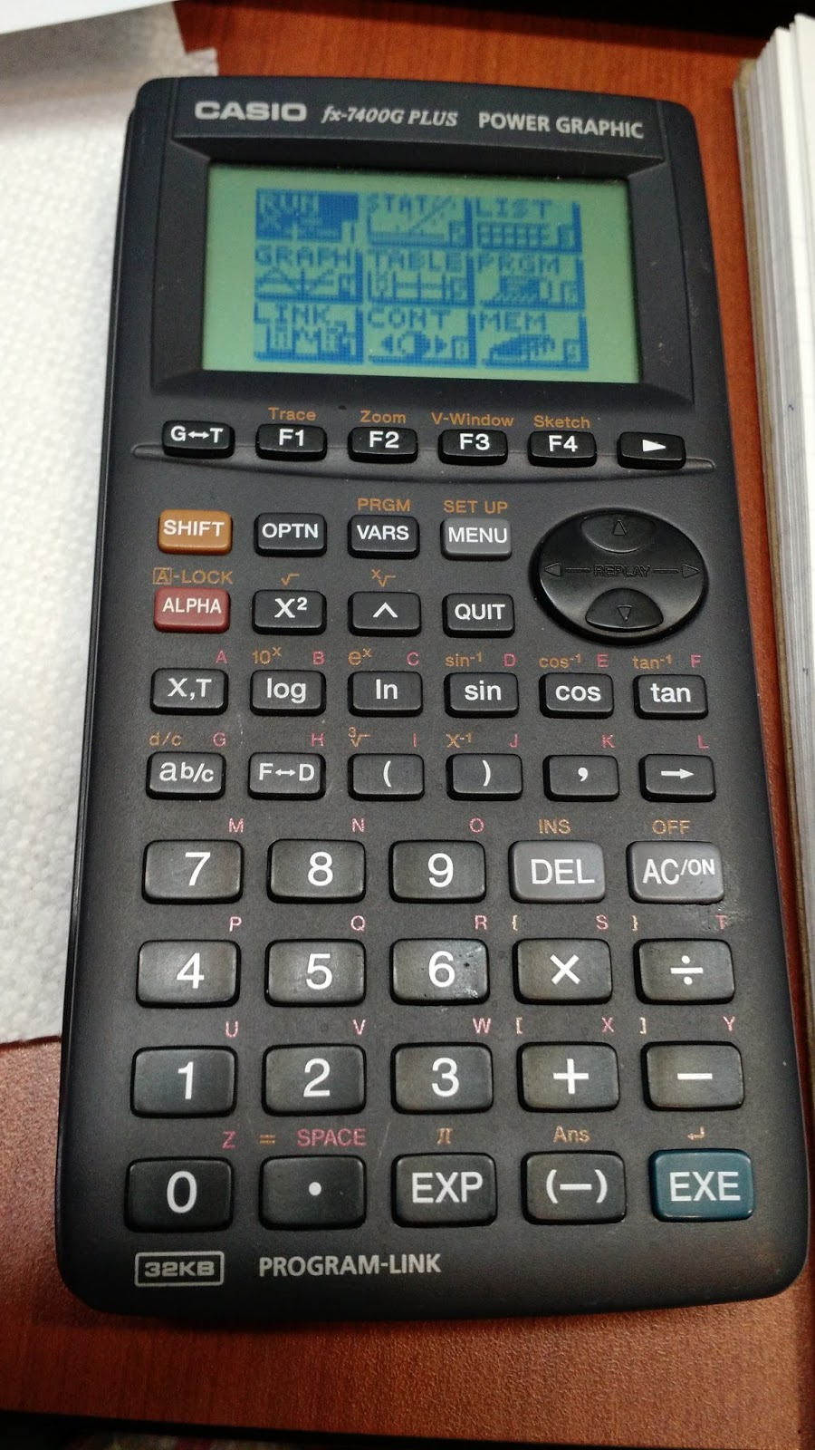 Eddie's Math and Calculator Blog: Retro Review: Casio fx