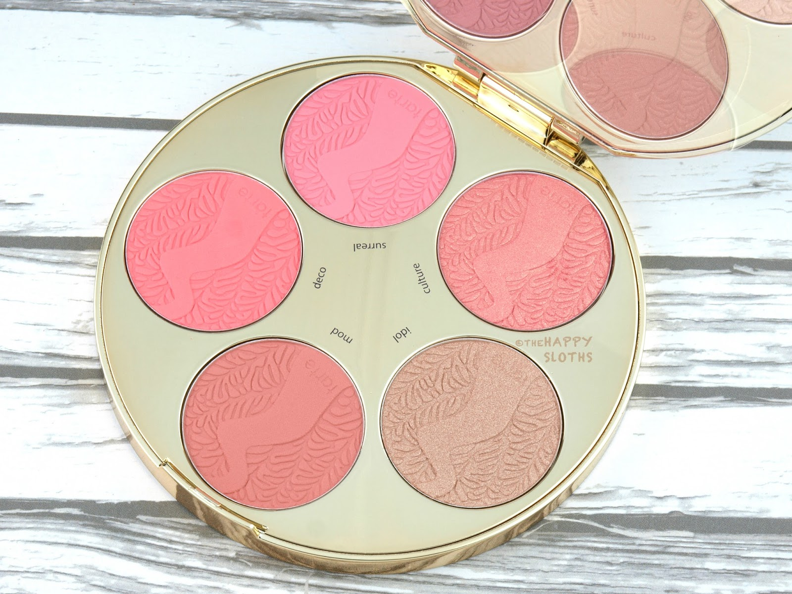 Tarte Color Wheel Amazonian Clay Blush Palette: Review and ...  Tarte