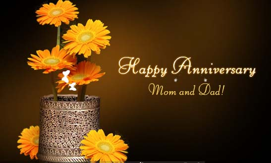 Happy wedding anniversary wishes for parents anniversary wishes