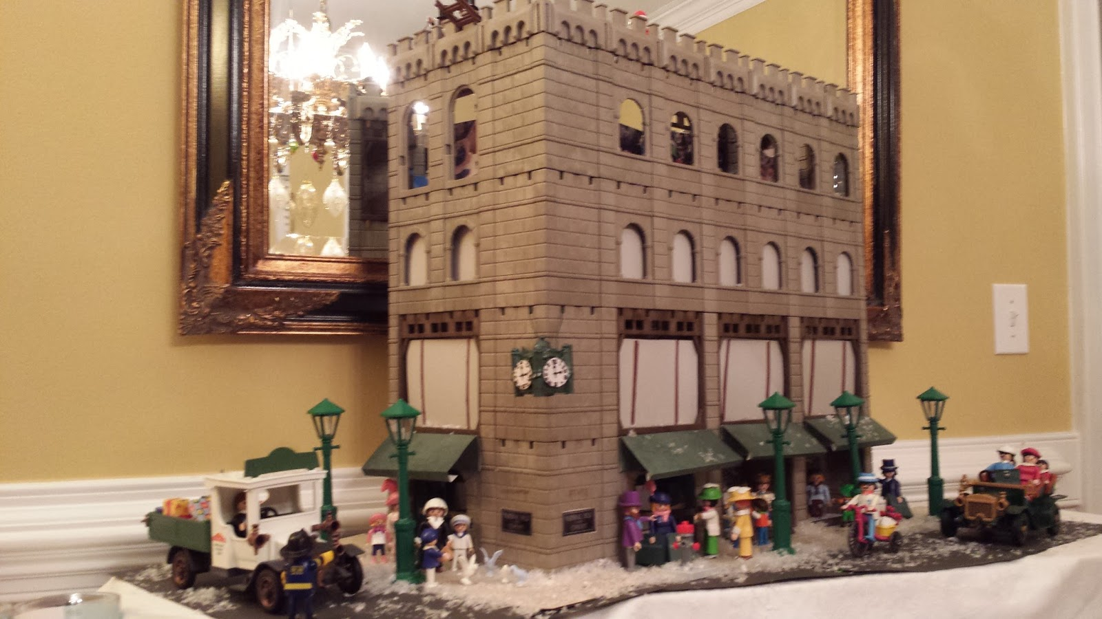 Build A Victorian House Christmas At Marshall Fields A Playmobil Holiday Creation