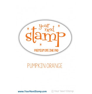 Premium Dye Ink Pad - Pumpkin Orange