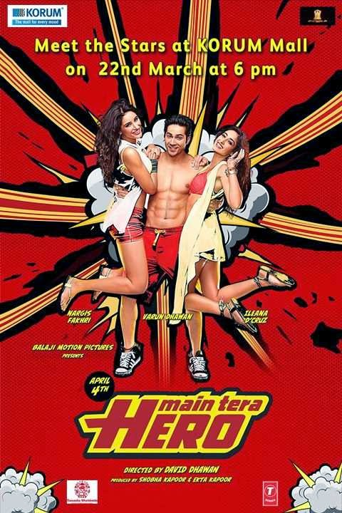 Main Tera Hero (2014) DVDRip ταινιες online seires oipeirates greek subs