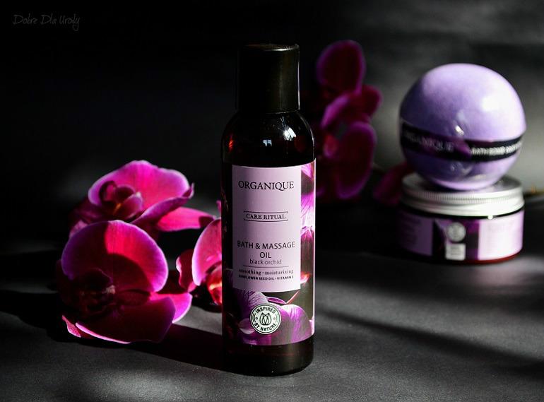 Rytuał Czarna Orchidea Organique - Olej do kąpieli i masażu