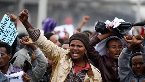 Al menos 100 muertos durante protestas contra Gobierno etíope