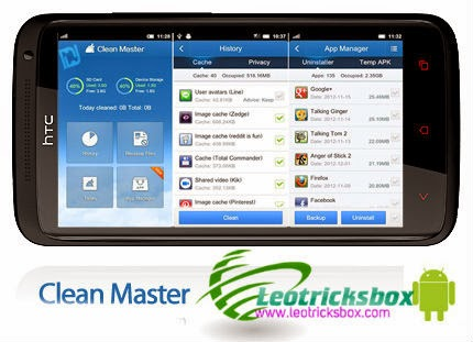 Android App : Clean Master v5.7